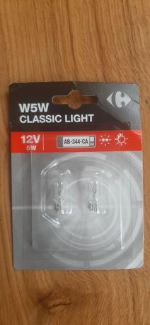 Габаритні ломпочки W5W CLASSIC LIGHT 12V 5W