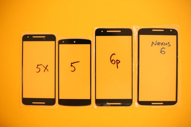 Nexus 6 / Nexus 6p / Nexus 5x / Nexus 5 стекло экрана дисплея корпуса