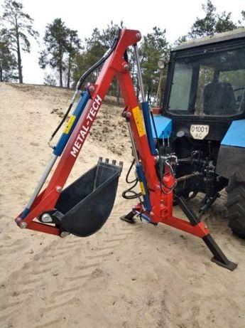 Экскаватор навесной на МТЗ, Т40, Т25. Екскаватор навісний на трактор