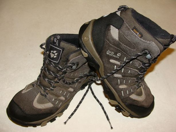 Dziecięce buty trekkingowe JACK WOLFSKIN Texapore. Rozmiar: 33/20