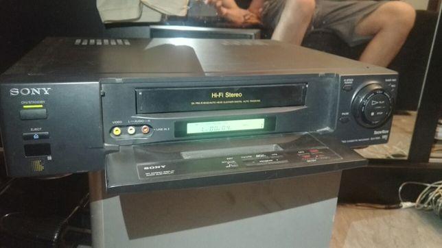Magnetowid Sony SLV-E80 HI-FI Stereo 4Head uszkodzony