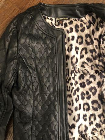Куртка Roberto Cavalli эко кожа
