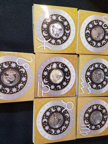 Монета знаки зодіаку 2 грн. Дитячий гороскоп