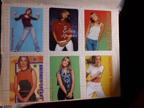 Тетрадь с наклейками (114шт) Бритни Спирс
