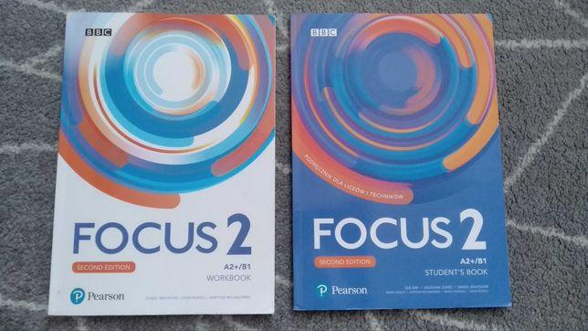 Focus 2 podręcznik i ćwiczenia do języka angielskiego