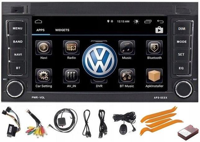 Nawigacja 2DIN Radio VW TRANSPORTER T5 TOUAREG Multivan Caravelle 2GB