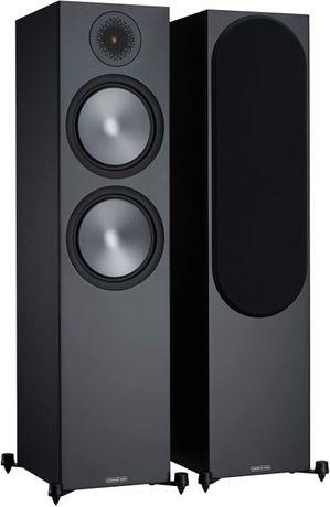 Kolumny podłogowe MONITOR AUDIO 500 -black , nowe , 5 letnia gwarancja