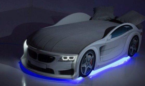 Удобная Детская Кровать Машина Диван, BMW/БМВ + Доставка/Рассрочка