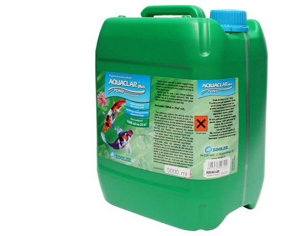 Krystalicznie czysta woda Zoolek Aquaclar na litry