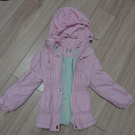 Куртка для девочки 3-5 лет, отличное состояние, качество