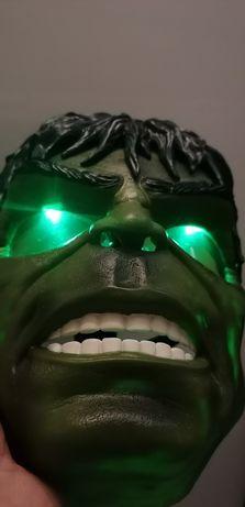 Świecącą Maska Hulk avengers superbohater