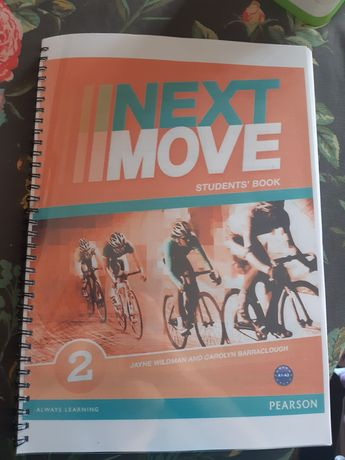 Next move students book
