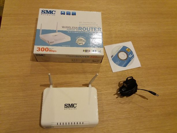 Router Wireless SMC Barricade N 300Mbps