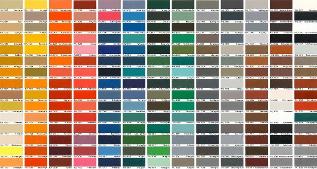 Тонирование эмали (краски) для дерева и МДФ по каталогам RAL, NCS