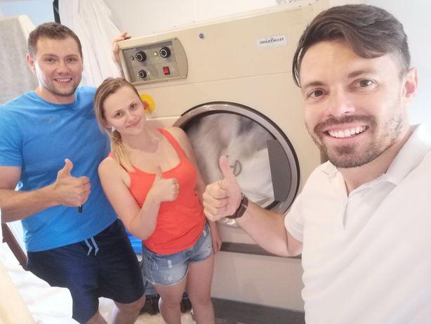 Máquina de lavar e secar roupa industrial Self-service lares etc