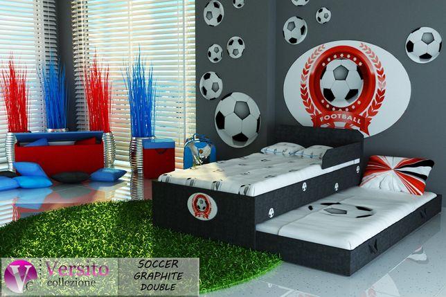 Łóżko dla dziecka,piętrowe z piłką,wysuwane z materacami 10cm.Zamość
