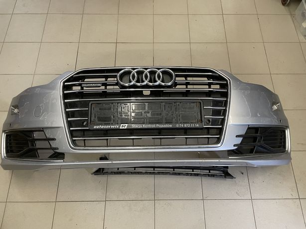 Zderzak kompletny przedni Audi A6 C7 lift