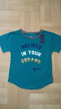 Tommy Hilfiger koszulka bluzeczka t shirt nowa 12-14 USA 152 cm