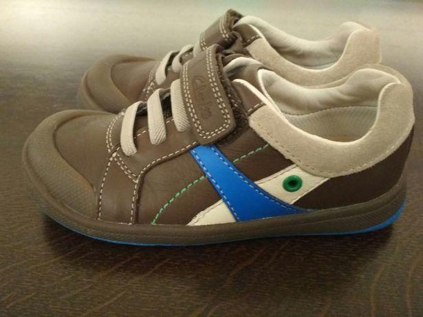 Buty dziecięce Clarks r 27 adidasy skóra na rzepy Maltby Pow NOWE