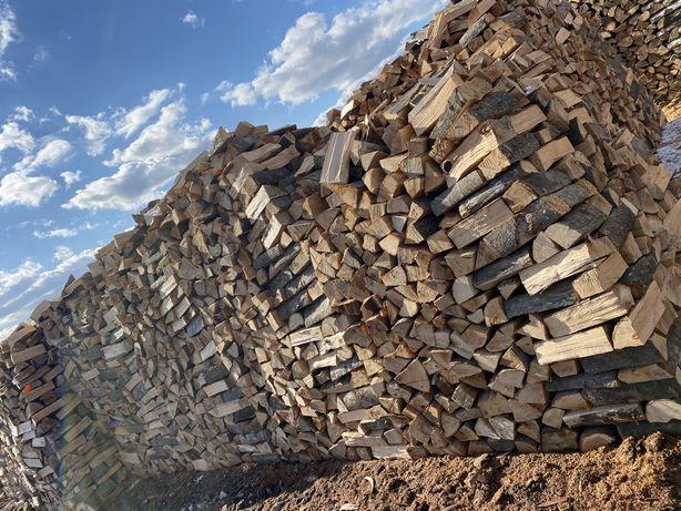Buk drewno, bardzo wydajne, grube kominkowe opałowe