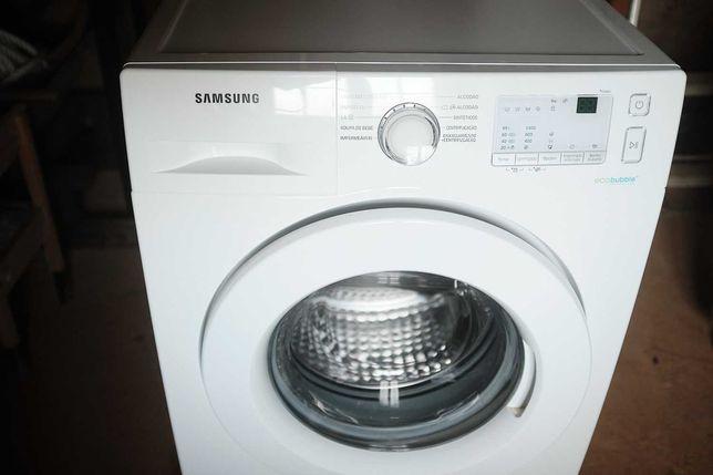 Máquina de Lavar Roupa Samsung   7 Kg   1400 RPM   A+++   como nova