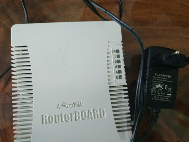 Маршрутизатор Mikrotik RB751U-2HnD