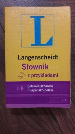 Słownik hiszpański polsko-hisz., hiszpańsko-polski Langenscheidt