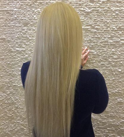 Наращивание волос ,маникюр в подарок