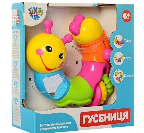 Игрушка гусеница limo toy +6 месяцев