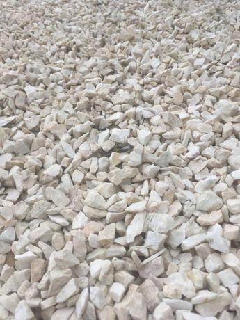 Grys biały twardy oryginalna BIAŁA MARIANNA .żwir kamień ogrodowy