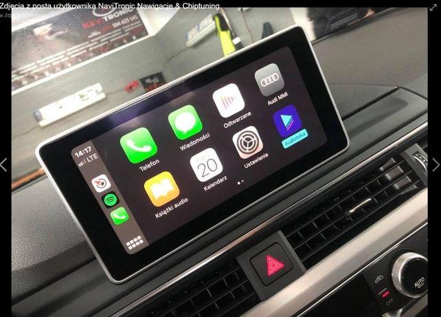 Audi Apple CarPlay Google Android Auto A4 B9 Q7 4M A6 C7 Mapy 2021 MIB