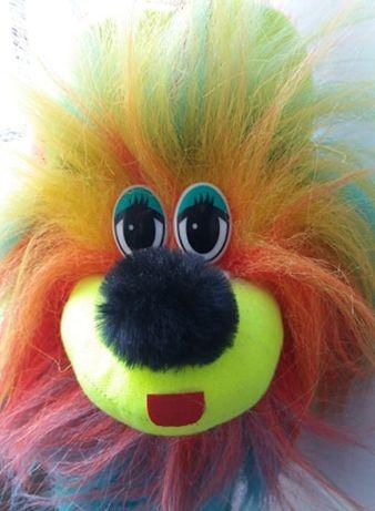 Новая яркая мягкая игрушка собака собачка цуценя обезьянка мишка ежик