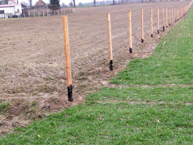Najtańsze ogrodzenia z siatki leśnej, tymczasowe,budowlane 14zł/mb