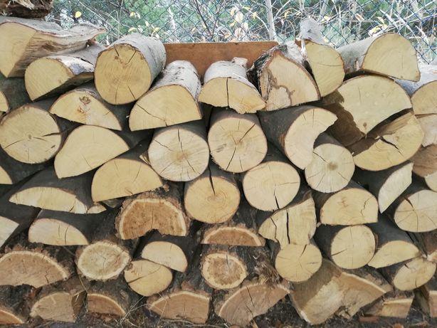 Drewno kominkowe suche roczne buk