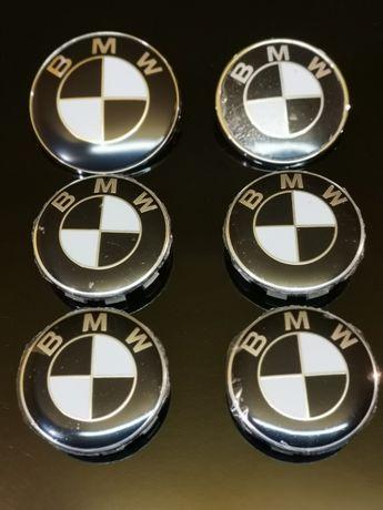 Zestaw Komplet Emblematów BMW CZARNO BIAŁE 6szt i inne E60 E87 E90 f30