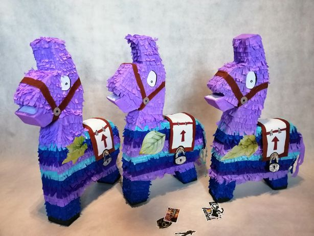 Piniata urodzinowa lama z Fortnite