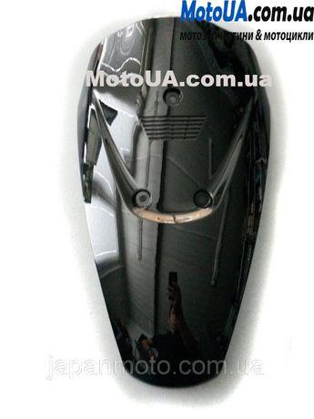 Клюв пластик Suzuki Lets чорний / сірий / синій / білий