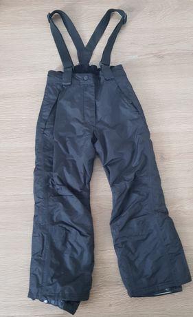 Zimowe spodnie ocieplane roz.122-128