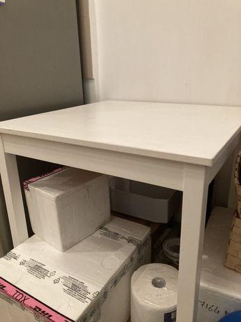 Stół stolik biały IKEA kwadratowy
