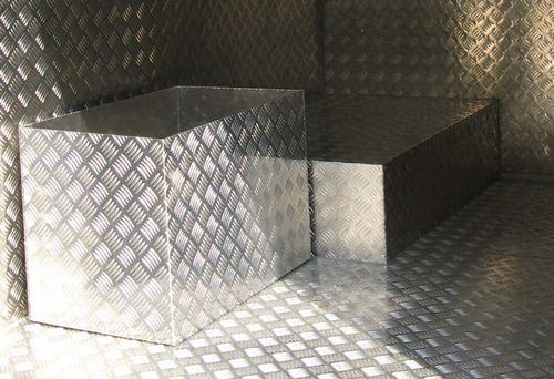 Лист алюминиевый рифлёный квинтет 1,5х1500х3000 мм марка 1050Н