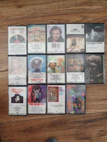 Kolekcja orginalnych kaset z lat 70 i 80