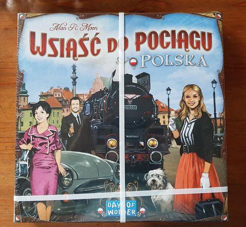 Gra Wsiąść do pociągu Polska