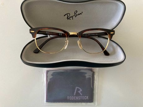 RayBan RB5154 Oculos Clubmaster Tortoise - gold