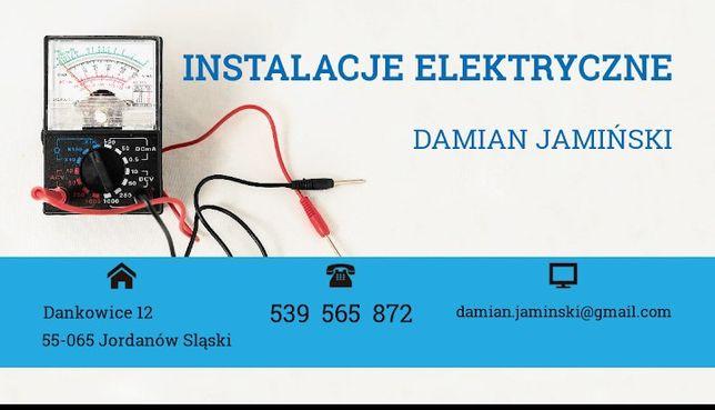 Instalacje elektryczne elektryk usługi elektryczne remont