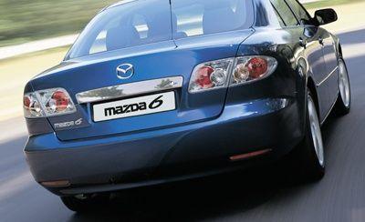 Blenda Listwa Klapy Tylna Chromowana Mazda 6 GG 02-07 Nowa Oryginalna