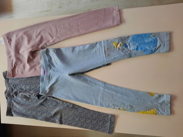 Getry spodnie dla dziewczynki 116 cm 4-5 lat