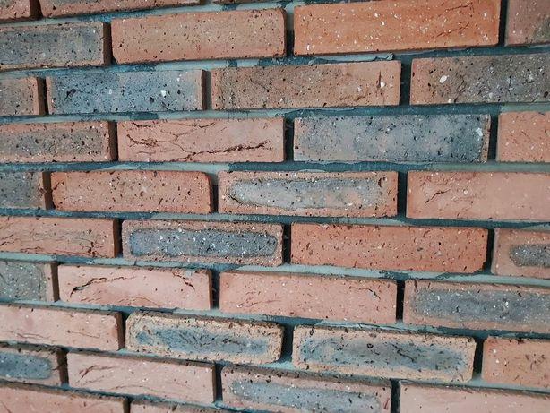Środki cegły, płytki ceglanie,cegła cięta,retro cegła,lica cegły ,loft