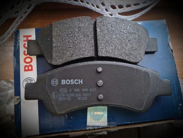 Peugeot Bosch klocki hamulcowe Citroen hamulce C4 206 C3 1007C2 okazja