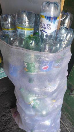Пластикові пляшки(1-1.5-2л)