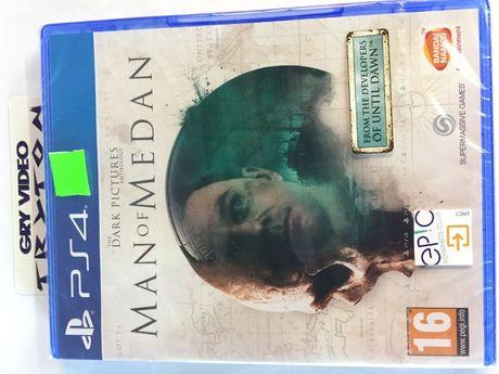 Man of Medan PS4 Playstation 4 Nowa folia Sklep